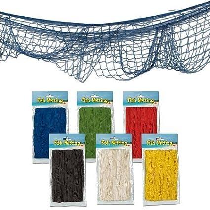 Decorative Fish Net colors may vary
