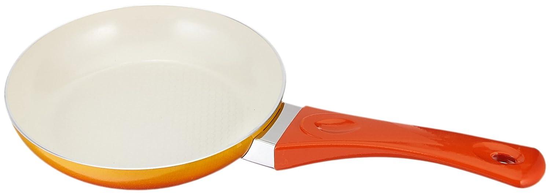 Uniwareスーパー品質セラミックノンスティックフライパン、ユニークなグラデーションカラー 7.9 Inch オレンジ B01LR702F2 7.9 Inch|オレンジ オレンジ 7.9 Inch