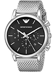 Emporio Armani Mens AR1811 Dress Silver Watch
