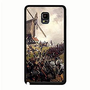 Artistic Element Napoleon Samsung Galaxy Note 4 Popular Phone Case Vintage Print Design Historic Napoleon Logo Mouded Case