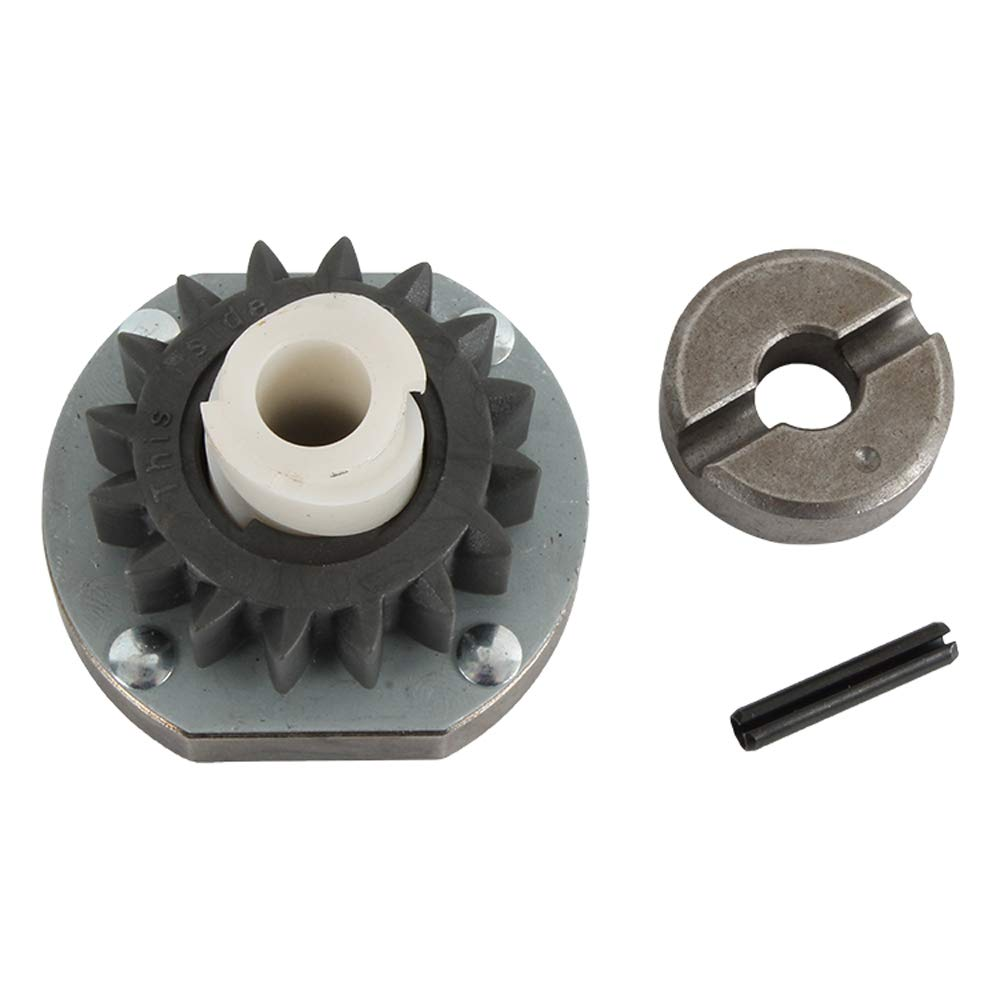 DB Electrical SBS5001 Briggs Starter For Drive Assembly 16 Tooth Plastic Gear With Clutch 391461 (8HP) Mower Lawn Tractor 68 100 108 John Deere 13HP 15HP 16HP 20HP 22HP Toro 11hp 1975-1987