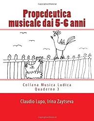 Propedeutica musicale dai 5-6 anni (Musica Ludica)