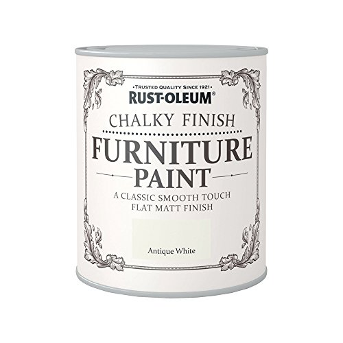 Rust-Oleum Chalky Finish Furniture Paint - Antique White - 750ml