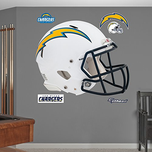 NFL San Diego Chargers Helmet Wall Graphics (San Wallpaper Chargers Diego)