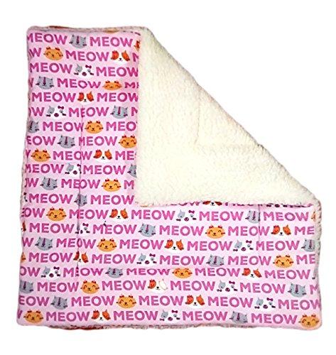 Catnip Pad (Sherpa cat blanket is meow catnip play mat)