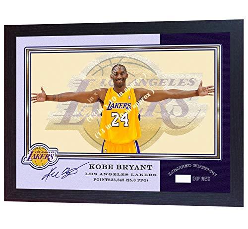Legends Never Die Kobe Bryant 81 Point Game Framed Memorabilia