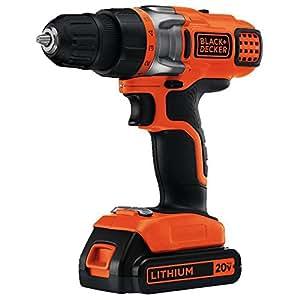 BLACK + DECKER LDX220SB 20-Volt Max Lithium Drill/Driver