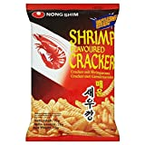 Nong Shim Shrimp Crackers - Hot & Spicy (75g) - Pack of 2