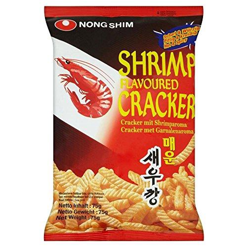 Nong Shim Shrimp Crackers - Hot & Spicy (Sweet Shrimp)