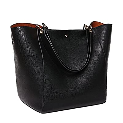 Obosoyo Women's Waterproof Handbags ladies Synthetic Leather Tote Shoulder Bags Travelling Mommy Soft Hot