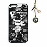 Fanstown BTS KPOP in the mood for love iphone6 case + Dust plug charm