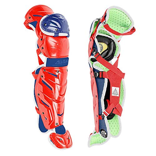 Image of All-Star S7 Axis Youth 9-12 Pro Leg Guards LG912S7X
