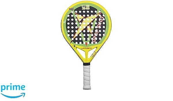 DROP SHOT Latitude 1.0 - Pala de pádel, Color Amarillo/Verde / Negro, 38 mm: Amazon.es: Deportes y aire libre