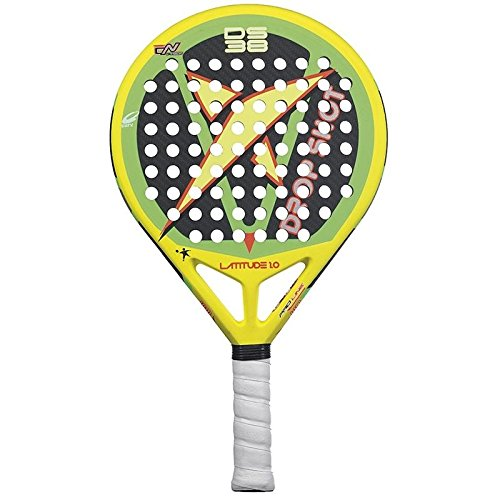 DROP SHOT Latitude 1.0 - Pala de pádel, Color Amarillo/Verde / Negro, 38 mm: Amazon.es: Deportes y aire libre