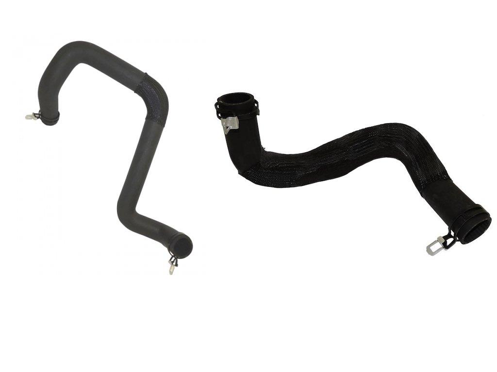 Upper and Lower Radiator Hoses Molded for Jeep Wrangler JK 2012-2014 3.6L Motor Rukse RK5148