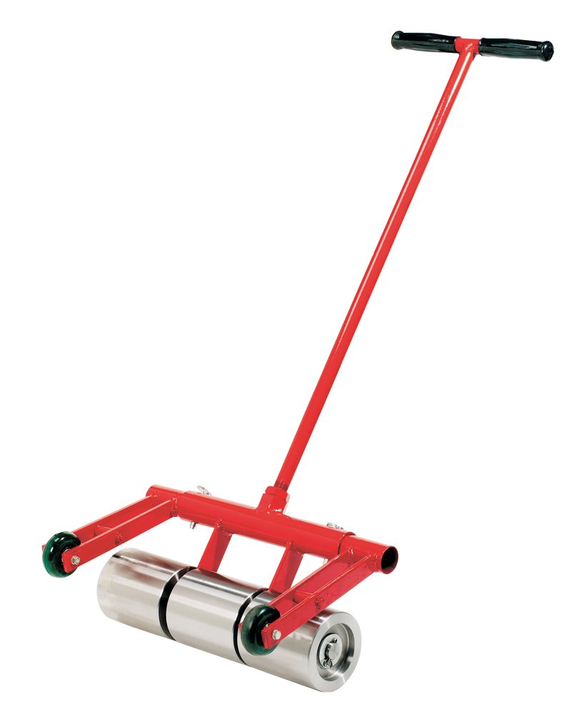 Roberts 10-950 75-Pound Heavy Duty Vinyl and Linoleum Floor Rollers with Chrome Plated Rollers and Removable Handle for Easy Storage by Roberts