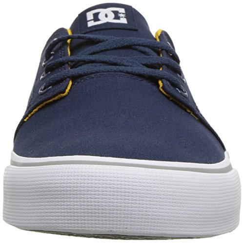 Tx Trase Dc Shoe Skate Unisex Men's Navy yellow fvxqwxEC