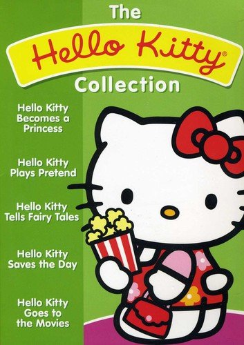Hello Kitty 5 Dvd Collection - Kitty Collectors Hello