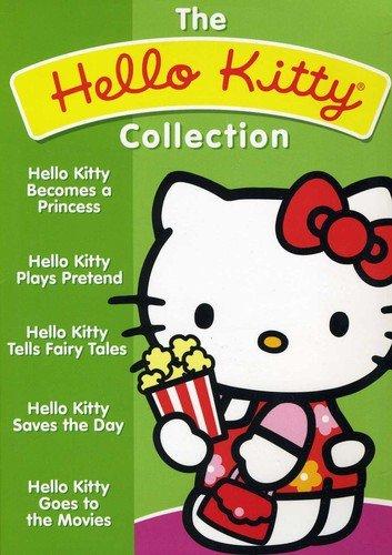 Hello Kitty 5 Dvd Collection - Hello Kitty Collectors