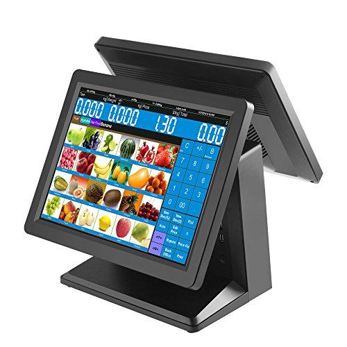Zhongji POS fabricante directo venta de comercio aseguramiento sistema POS computadora cajas registradoras táctil de...