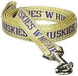Pet Goods Manufacturing NCAA Washington Huskies Dog Lead, Small