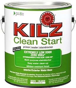 Kilz Clean Start Extremely Low Odor Zero Voc Interior