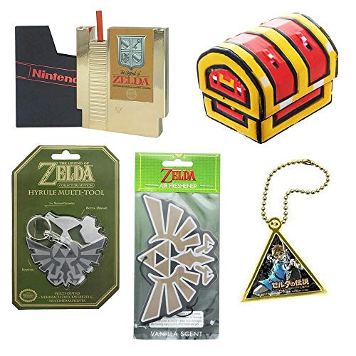 Toynk Nintendo Collectibles | Legend of Zelda Gift Bundle | Cartridge Canteen and More