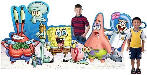 PATRICK STAR SpongeBob SquarePants CARDBOARD CUTOUT Standup Standee 5 Feet Tall
