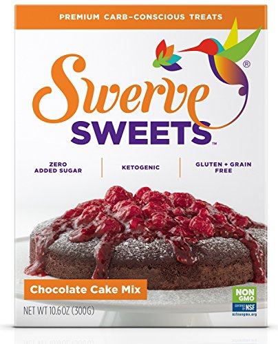 Swerve Sweets, Chocolate Cake Mix, 10.6 ounces ()