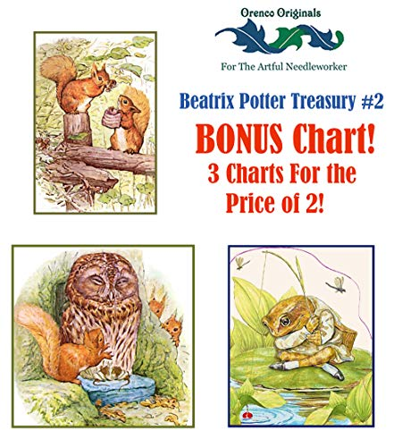 - Beatrix Potter Deluxe Treasury#2-3 Counted Cross Stitch Patterns Charts