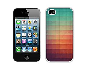 iphone 4S Cases,iphone 4 Case,Colorful Hbrid With Dot Case Cover Protector For iphone 4 4S,Cyvyryng Art Print Iphone 4 4s Cases White Cover