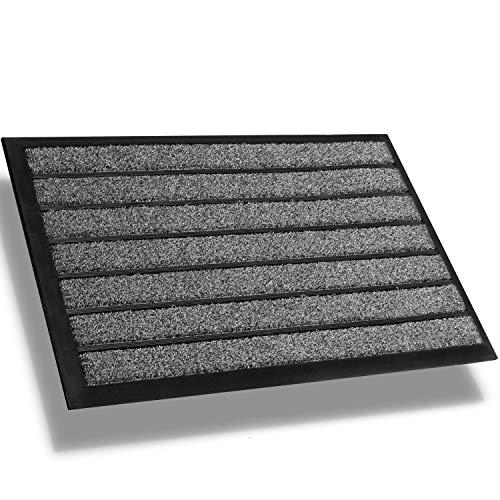 Extra Durable Doormat Outdoor (30x18) - Rubber Outdoor Doormat - Absorbent Door Mat Outdoor - Front Door Mat - Back Door Mat - Doormat Indoor - Inside Door Mats - Entrance Door Mat - Doormat Rug
