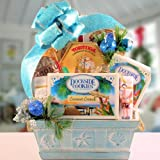 Gift Basket Village Tropical Treats Holiday Collection, A Crazy For Coconut Christmas
