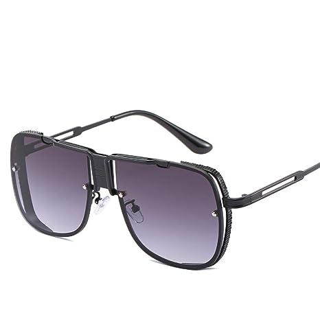 Yangjing-hl Gafas de Sol Trend Box Gafas Salvajes Gafas de ...