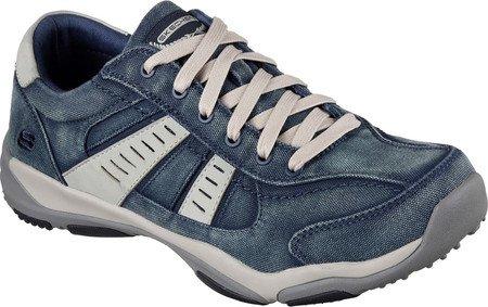 64972 Bleu Chaussures MASSON navy LARSON SKECHERS Bv6wq