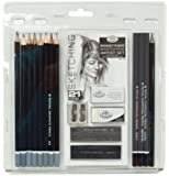 Royal Brush and Langnickel Essentials Sketching Pencil Set, 21-Piece