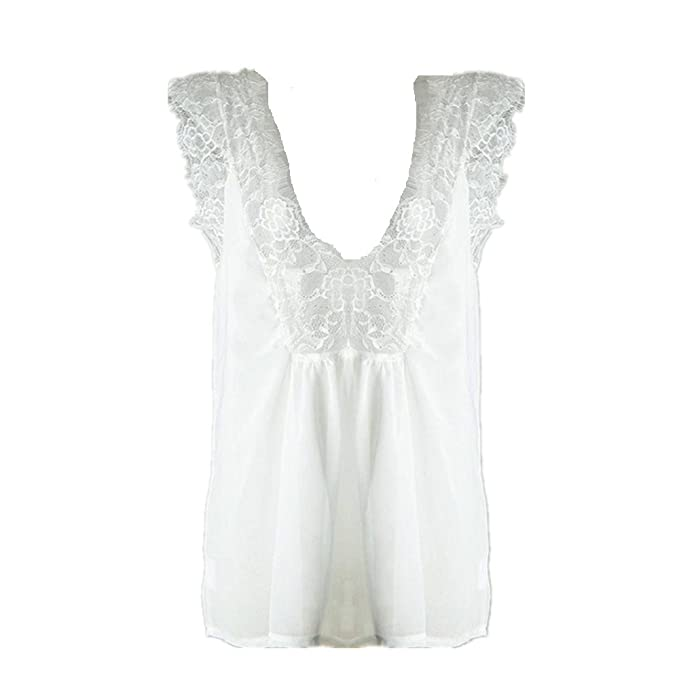 Mujeres Lace Camisetas,,❤️Ba Zha Hei Manga Larga Blusas de Encaje Flores Lace