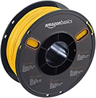 AmazonBasics PLA 3D Printer Filament, 1.75mm, Yellow, 1 kg Spool from AmazonBasics