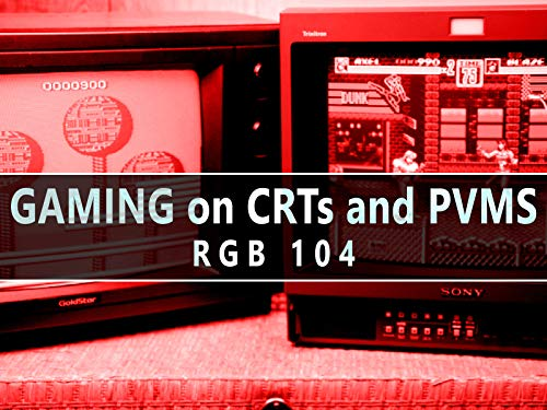 RGB104 :: Gaming on CRTs and - Crt Tv