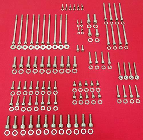- ALLOYBOLTZ - GM LS1 LS2 LS3 LS6 LS7 STAINLESS STEEL UPPER ENGINE ALLEN BOLT KIT