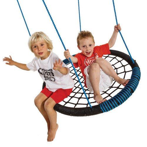 Nestschaukel Oval TÜV Geprüft Netzschaukel für 2 Kinder
