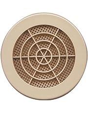 Grille Concentrique à clipser d.100mm Sable 24cm²