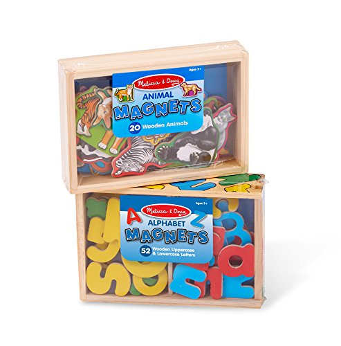 Melissa & Doug Magnetic Animals & Alphabet Bundle