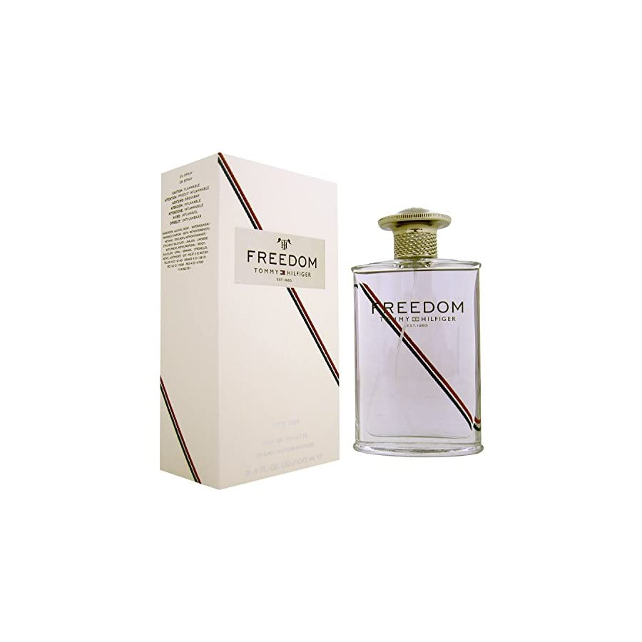 Tommy Hilfiger Freedom Cologne Eau de Toilette Spray for Men, 3.4 Ounce