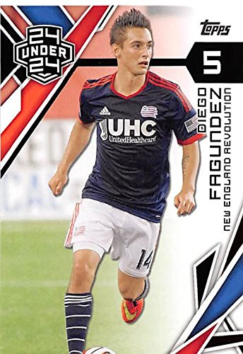 competitive price 33539 f0887 Diego Fagundez trading card (New England Revolution MLS ...