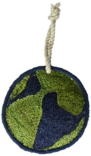 Earth Friendly Kitchen Tool - Loofah-Art 100% Natural Loofah Kitchen and Household Scrubber/Sponge, Eco Earth