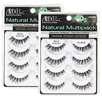 (2 Pack) ARDELL Natural Profesional Multipack Demi Wispies Negro