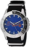 Game Time Men's 'Starter'  Metal and Nylon Quartz Analog Watch, Color:Black (Model: MLB-STA-ATL)
