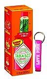 hot sauce key chain - Hot Sauce Tabasco Sauce - Tabasco Original Flavor Pepper Sauce Brand 12 Fl oz & Pink Bottle Opener Keychain