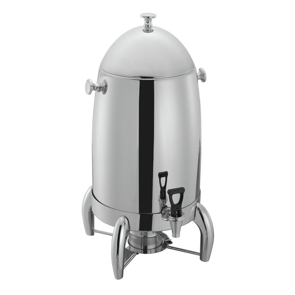 HUBERT Stainless Steel Coffee Urn 5 Gallon - 13 3/4''L x 12 1/5''W x 24 2/5''H